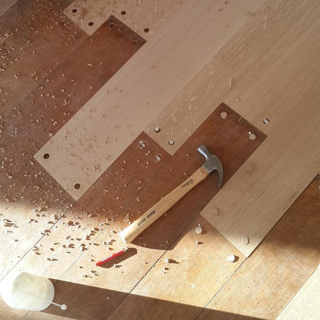 Traitement du bois pour planchers