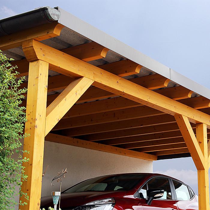 Création de carports en bois à Soignies
