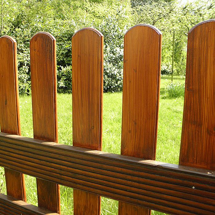 Clôtures de jardin en bois à Soignies