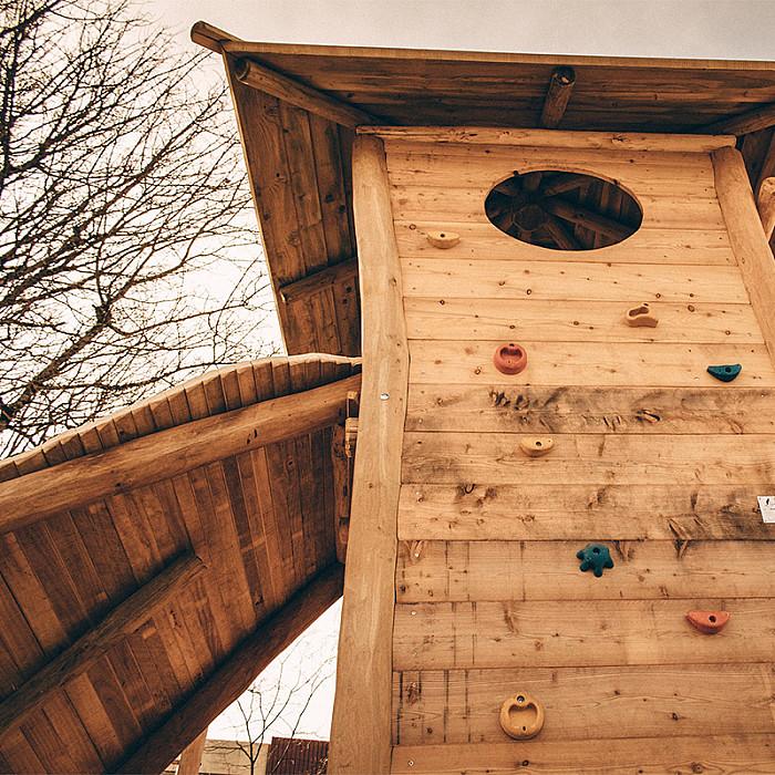 Création de jeux de plein air pour enfants à Soignies