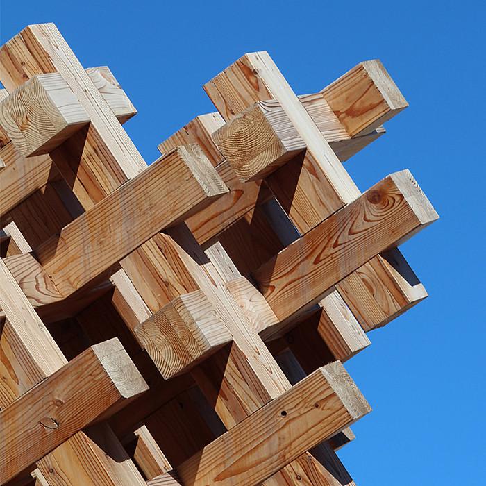 Informations d'aménagement extérieur en bois
