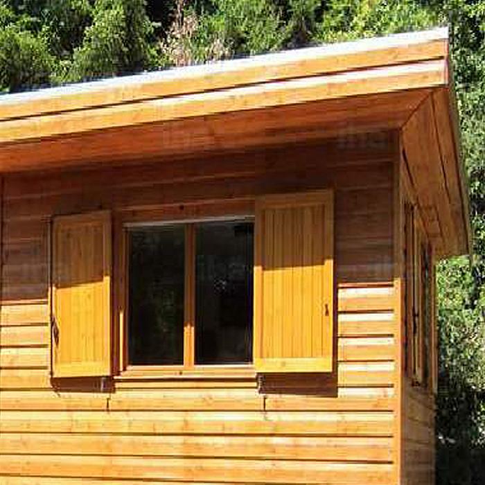 Carports, poolhouses, cabanes en bois sur-mesure à Soignies