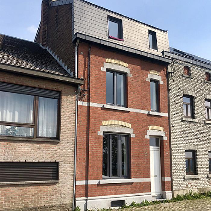 Rénovation et sablage de façades à Liège