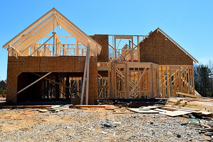 Construction habitation à ossature bois