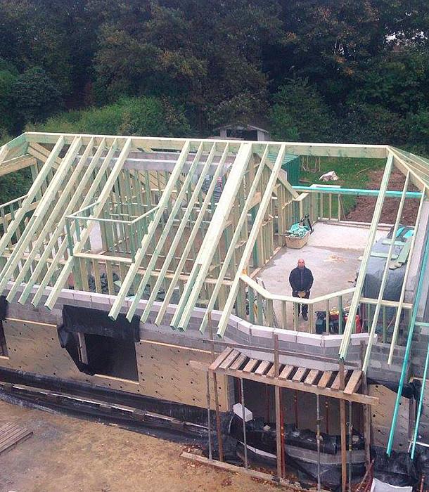 Construction de charpente