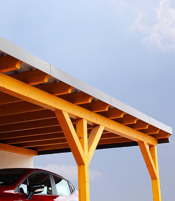 Construction de carports en bois
