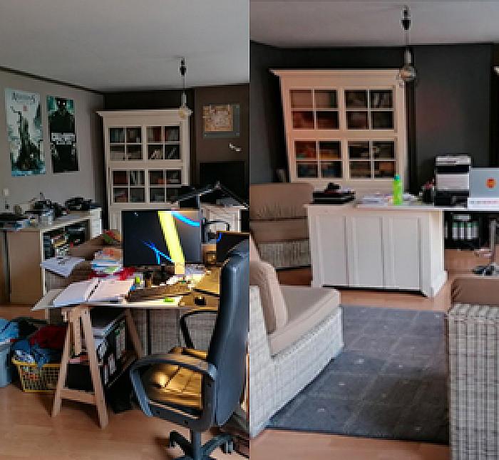 Ré-organisation complète de la maison