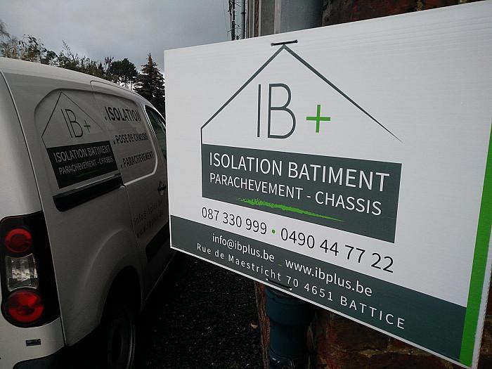 Entreprise spacialisée en isolation à Verviers