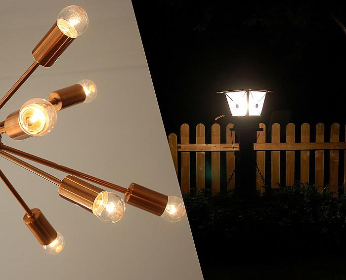 Installation de lampe extérieure à Blegny