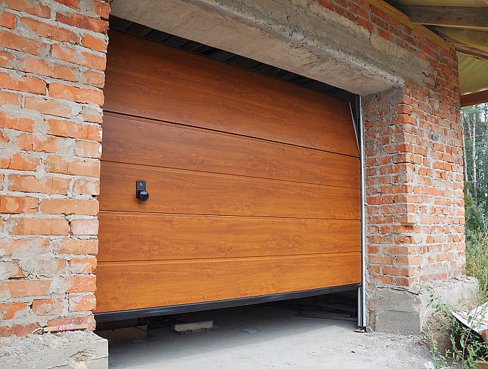 Pose de portes de garage à Namur
