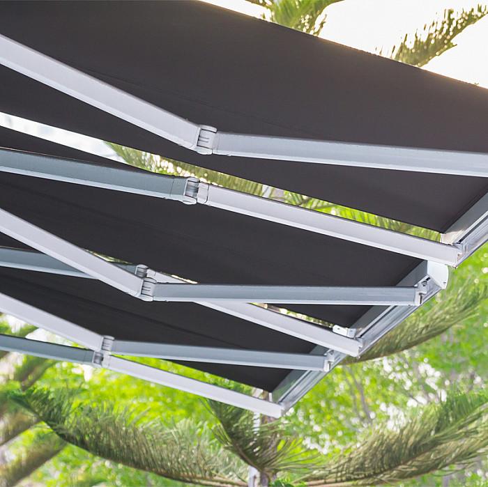 Pose de bannes solaires à Malmedy
