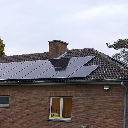 Installation de panneaux photovoltaïques à Hannut