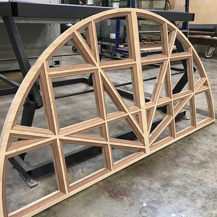 Atelier de fabrication de châssis bois