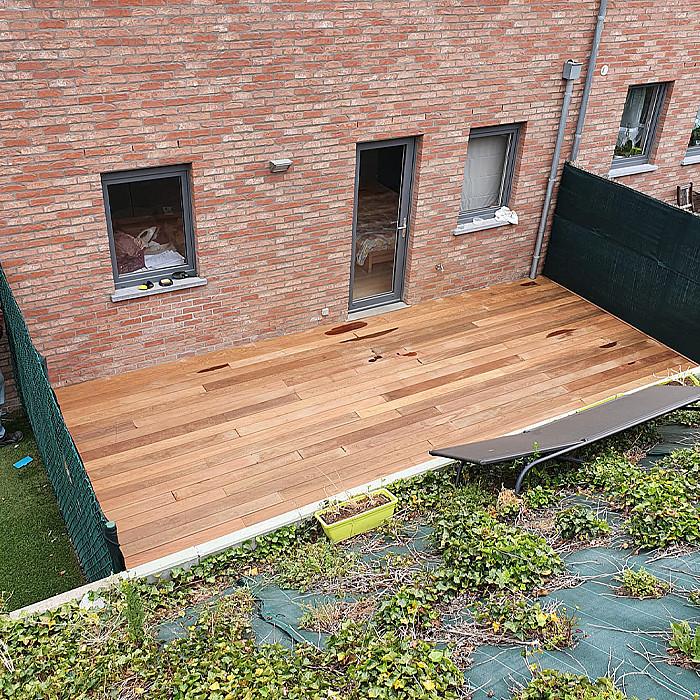 Fabrication et pose de terrasse en bois