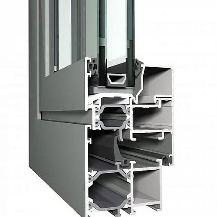 Placement de fenêtre en aluminium