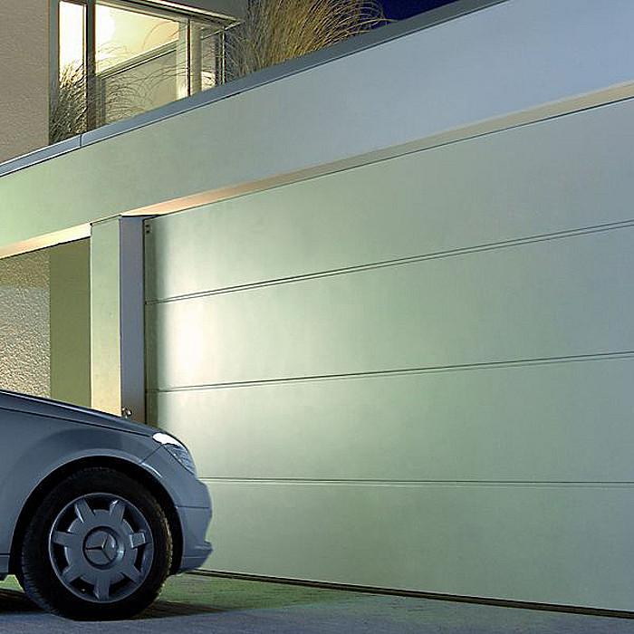 Gamme de portes sectionnelles de garage à Ans