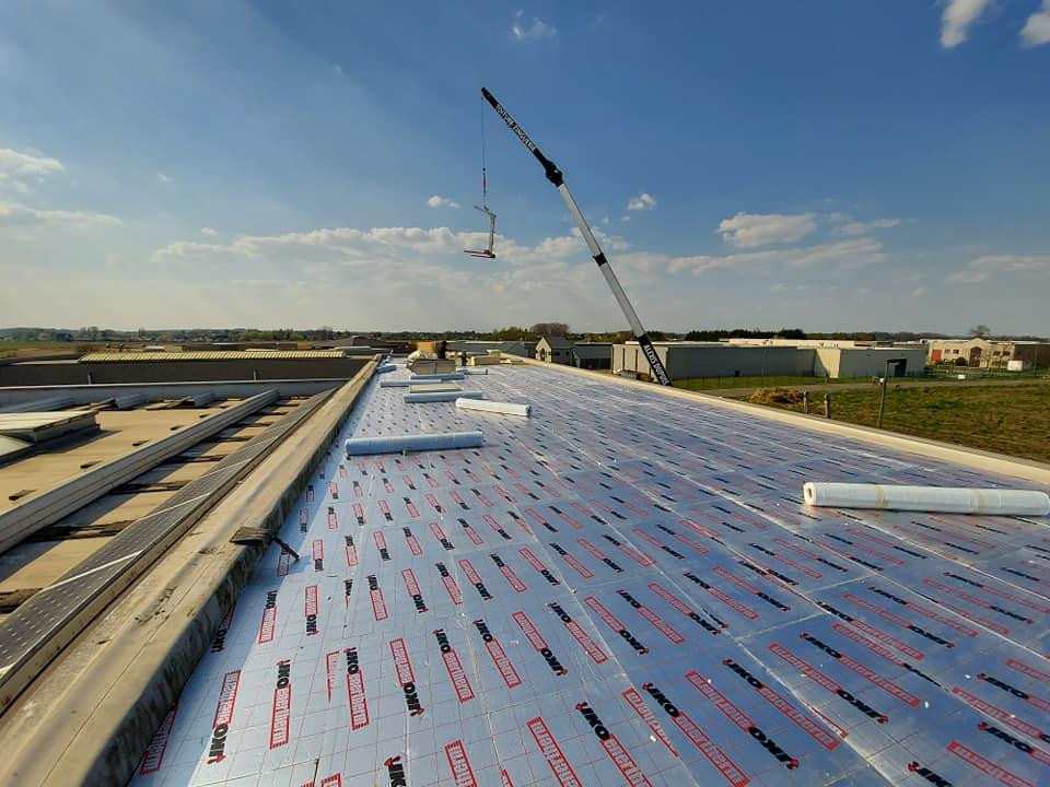 toiture plate - toiturier - couvreur -construction toiture