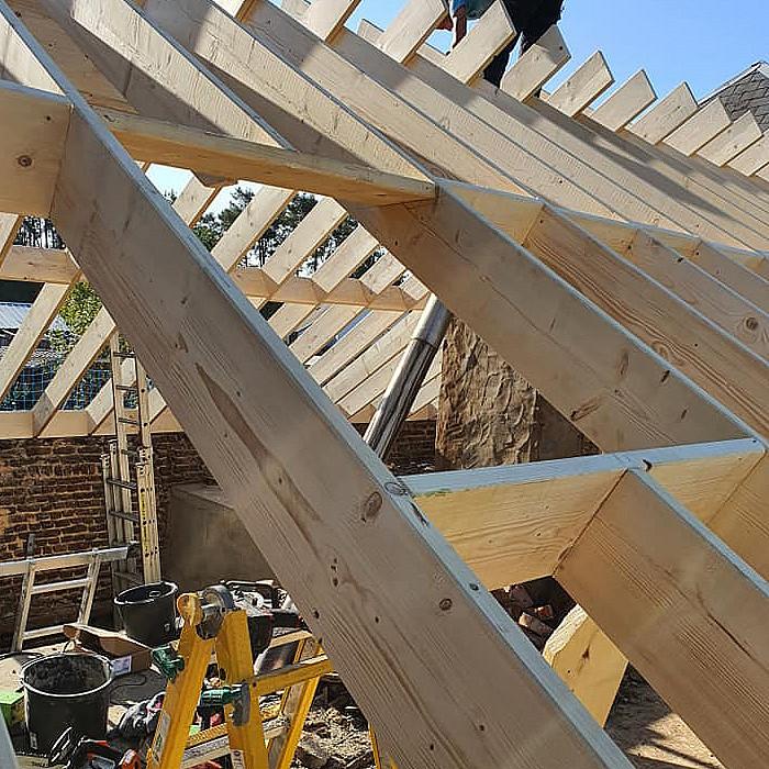 Construction de toiture à Bastogne