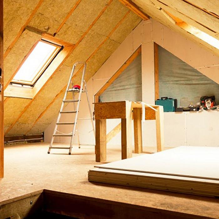 Nouvelle isolation de toiture
