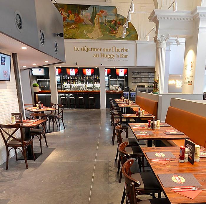 Coulage de béton restaurant à Liège