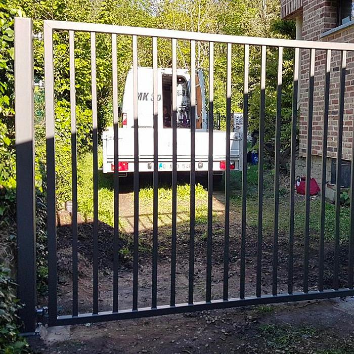 Création de portail et de barrière métallique
