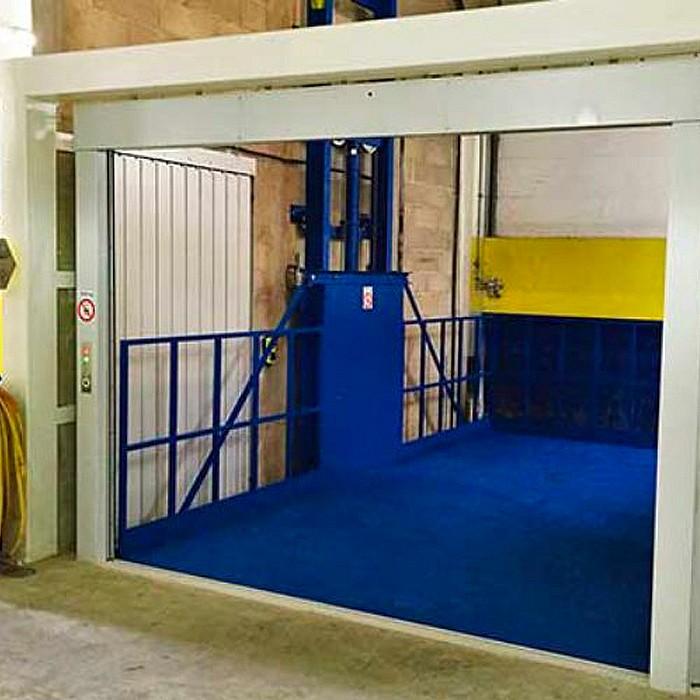 Monte-malades Hidral installé par AEM Ascenseurs à Herve