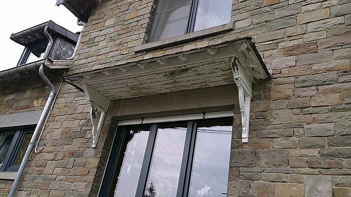 Réparation et rénovation de corniches