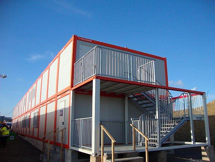 Escaliers, passerelles et terrasses - Polygone Solutions Modulaires
