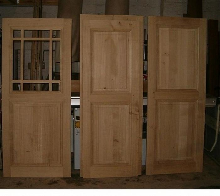 Fabricaiton de portes intérieures à Namur