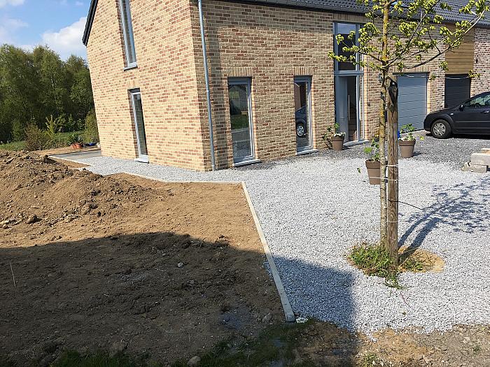 Rénovation extérieure d'habitation en province de Liège