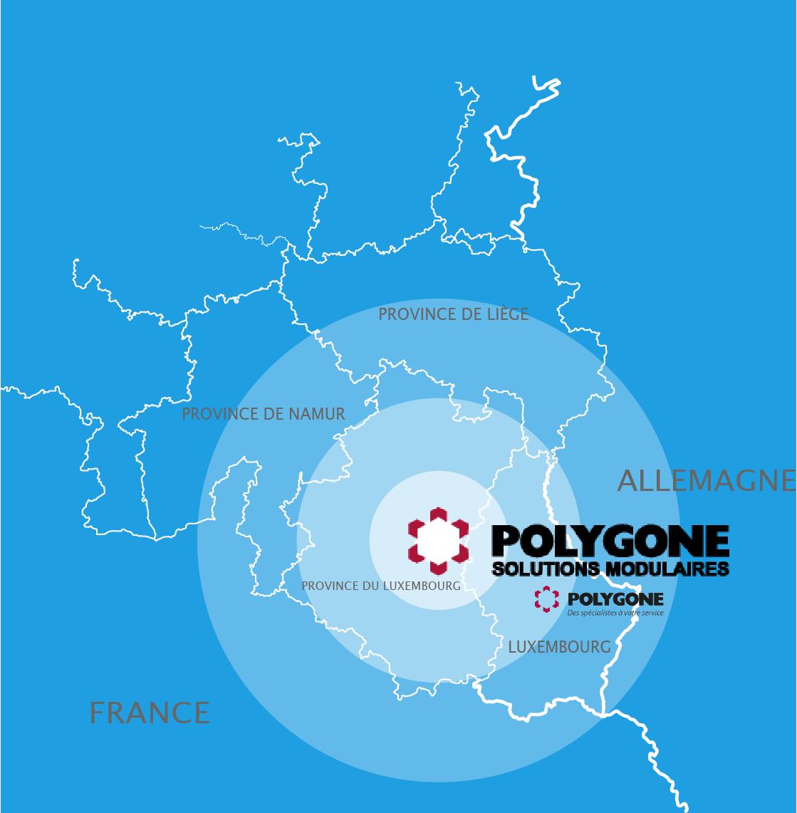 Polygone en Belgique