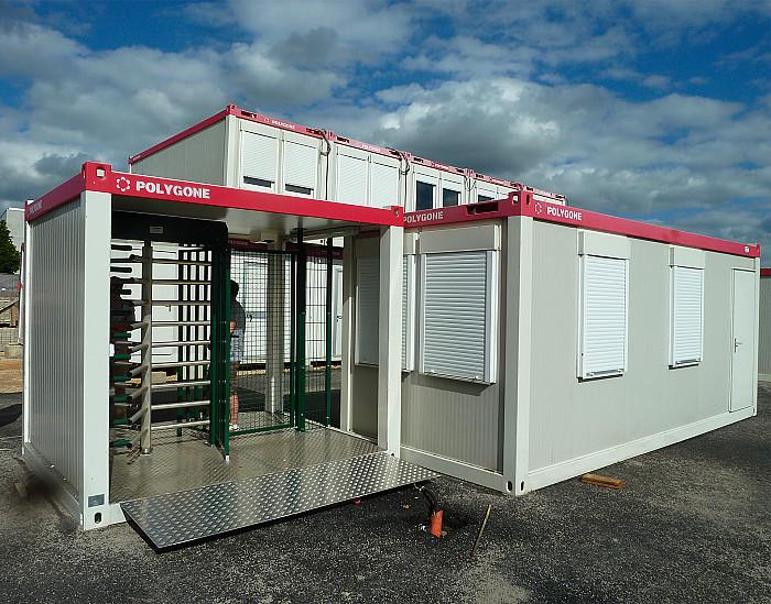 Service de location containers habitables