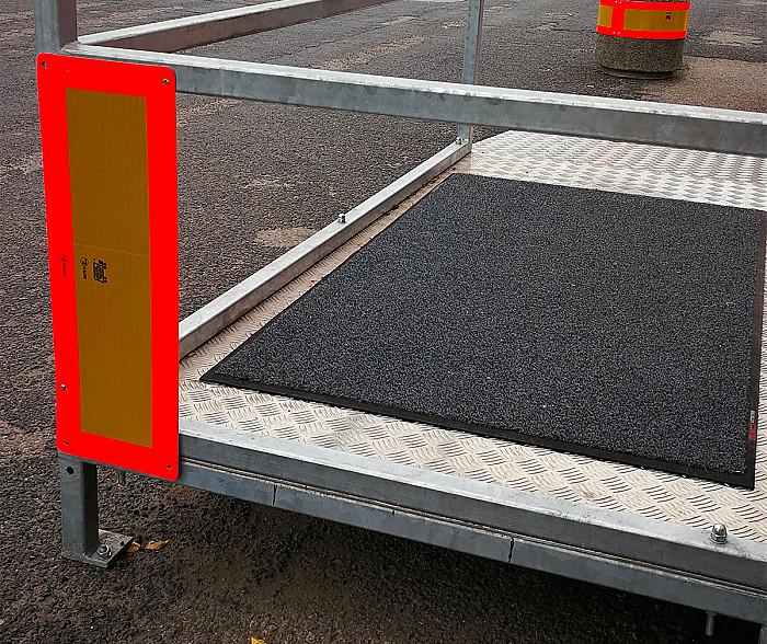 Adaptaitons PMR pour pour containers en Wallonie