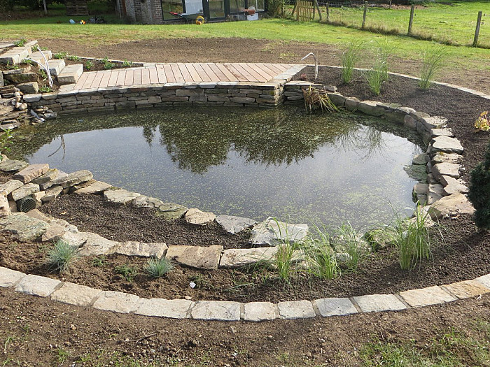 Installation de bassins d'eau à Verviers