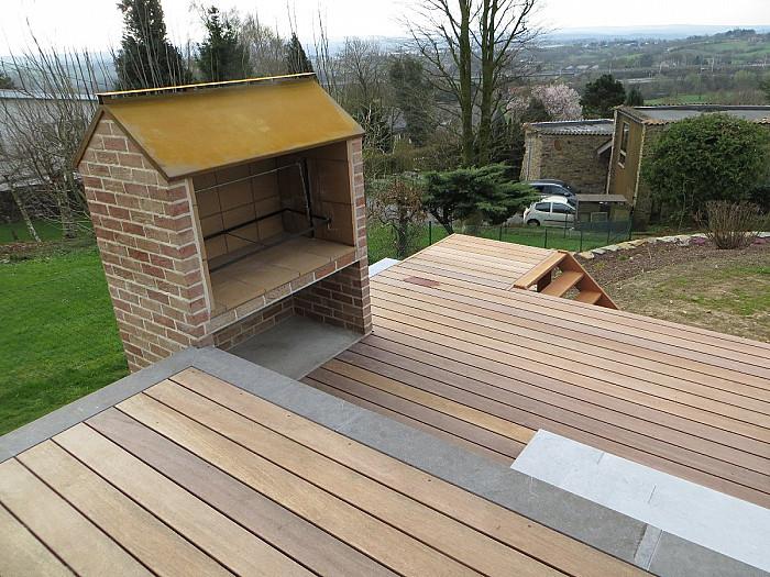 Terrasse de jardin à Verviers