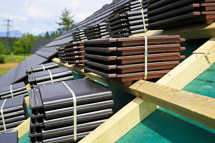 Pose de couvertures de toiture