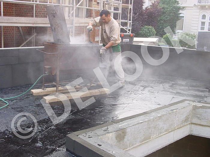 Construction de toitures plates