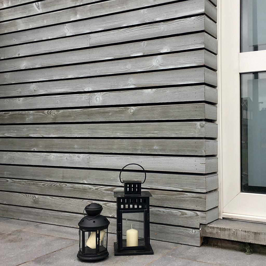Isolation façade en bois