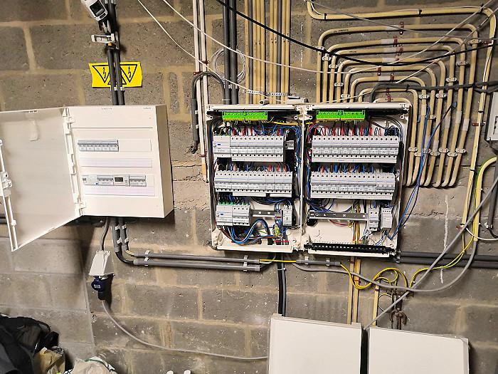 Rénovation électrique à Namur